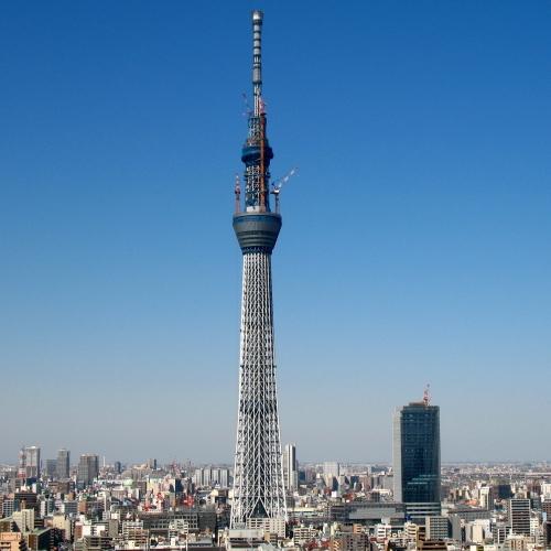 東京スカイツリー634m