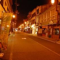 夜の街歩き