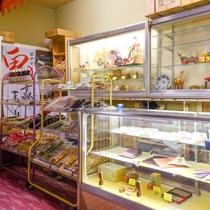 *【売店】お土産の他に、宮城県の工芸品などもご用意しております。