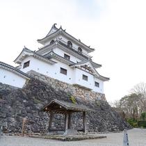 *【白石城】白石城下が一望でき、蔵王連峰をはじめ四季の景色を堪能できます。