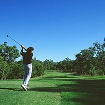 ゴルフ場まで、わずか10分で行けます! ※画像はイメージです。