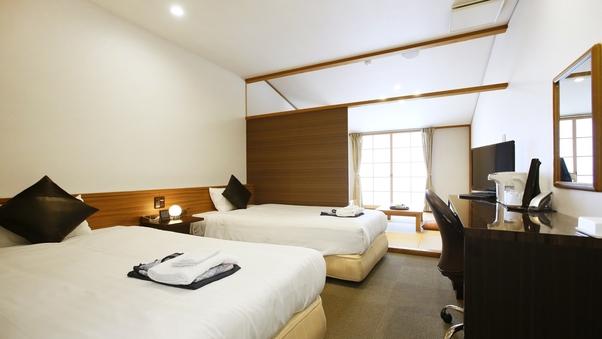 ガーデンビュー 別館和洋室33平米◆6畳+ツイン