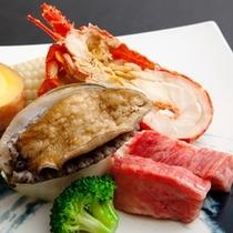 BBQ!ロブスター★日本一長崎県産牛★鮑の踊り焼★新鮮採れたて野菜の響宴