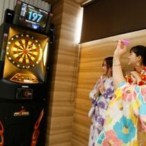 【夜8時からのロビーナイトイベント】大人のお楽しみ「ダーツ」もご準備!