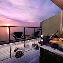 【グランドオーシャンズ】星空や朝日と共に大海原を望む露天風呂
