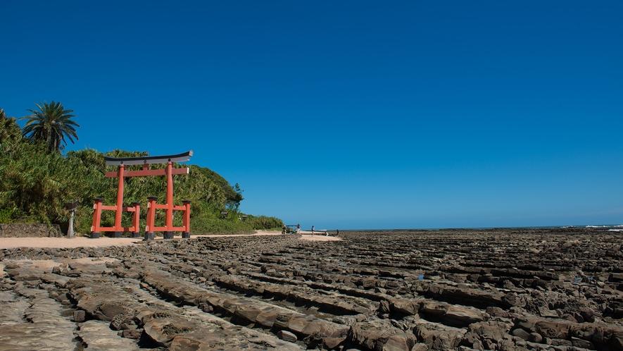 神話の舞台!青島神社