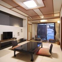 【上層階露天風呂付客室】(一例)*