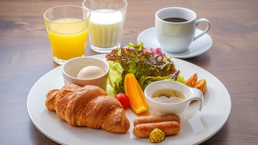 ・ワンプレート朝食 お好きなドリンクが選べます
