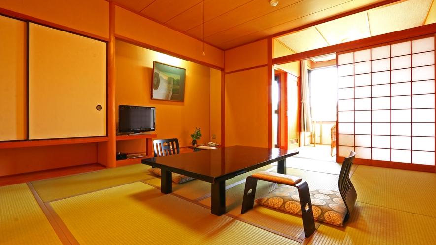 《和室10畳》露天風呂付きの室数限定の客室です。