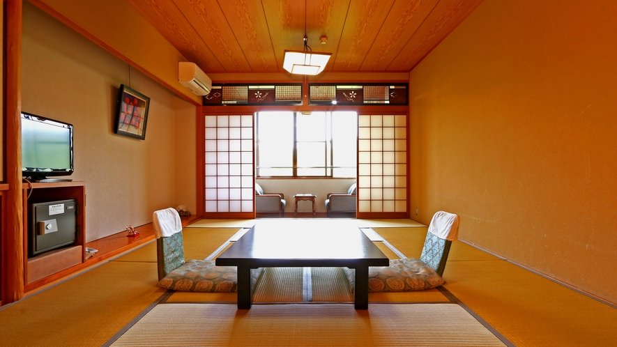 《和室12畳》カップルやご夫婦におススメのスタンダードの客室です。