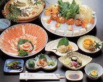 お食事例:吉野葛鍋
