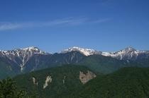 櫛形白峰三山