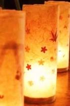 手すき和紙ライト画像