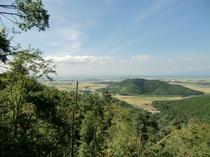 小谷城からの景色