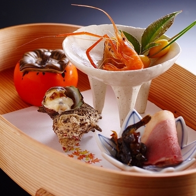 近江の食材や四季折々の旬の味覚を堪能する、調理長こだわりの近江美食会席プラン「極ーKiwamiー」