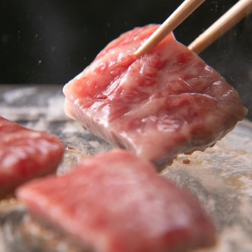 近江牛水晶プレート焼き