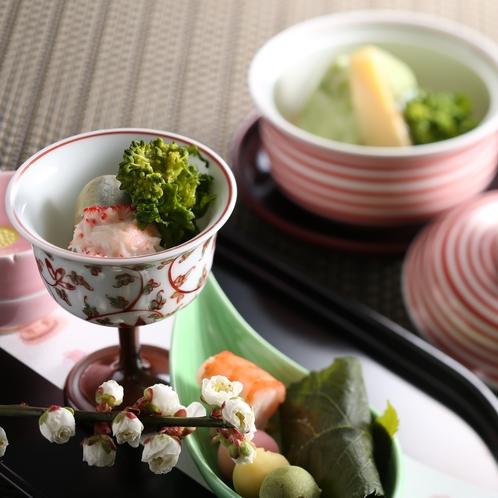 春のお料理(イメージ)