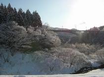 丸山大橋の冬景色〜水墨画の世界へ〜