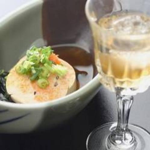 料理例(あん肝)