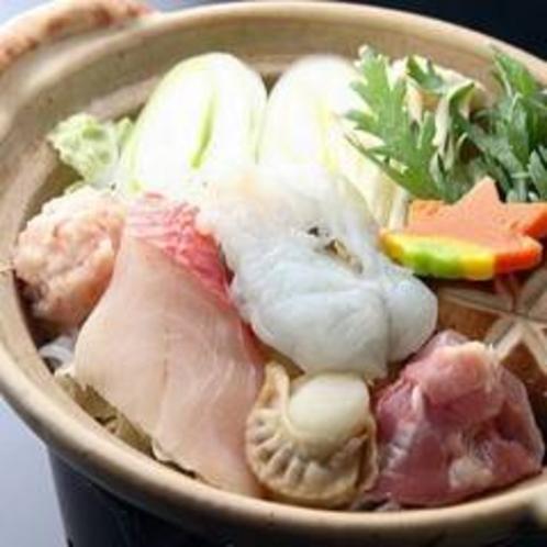 料理例(一人用よせ鍋)
