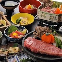 【夕食*メニュー例】