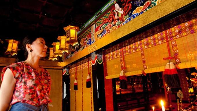 お寺で宿泊 仏舎利拝観プラン