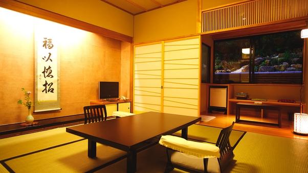 【秀山閣】檜内風呂付和室8畳(禁煙)
