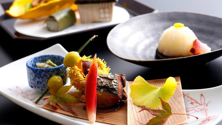 月替わりの京会席(お料理一例)