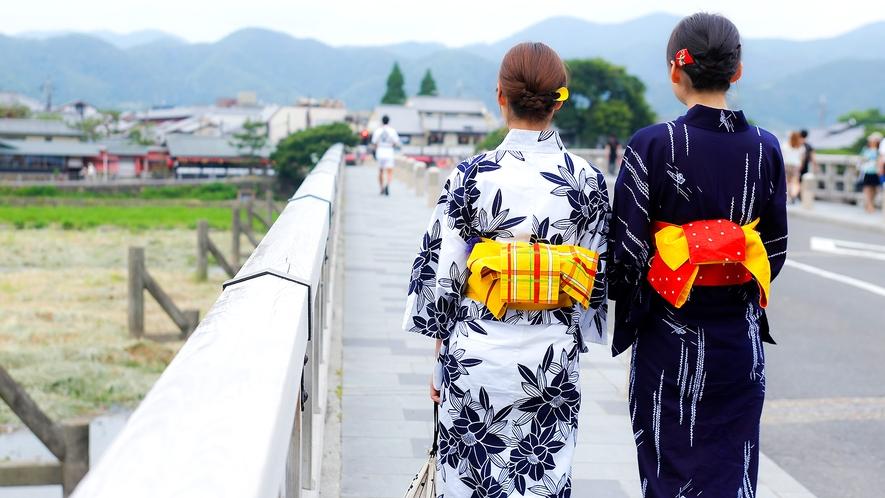 女性同士の京都の温泉旅を!嬉しい女子旅特典満載!