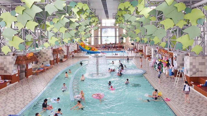 夏を満喫!超大型屋内温水プール「日光霧降VIVA!ハワイアン」入場無料プラン