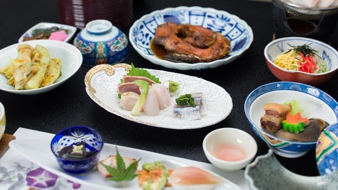 【夕食付・現地現金決済プラン】人気の麦飯と鯉の旨煮を堪能!朝食が無いから早朝出発にも!