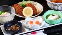 【夕食一例】家庭的なおふくろの味をお楽しみください。