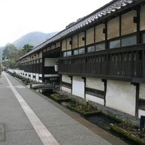 【殿町通り】津和野の観光名所。タイムスリップ気分を味わえます。