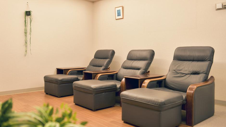 フィットネスプラザ 「ブレス」内リラクゼーションルーム