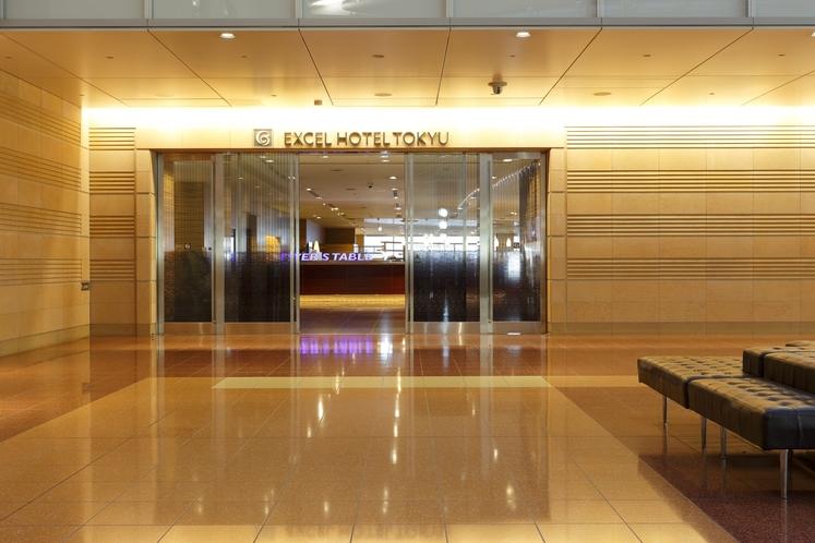 ホテル⇔ターミナルビル出入り口