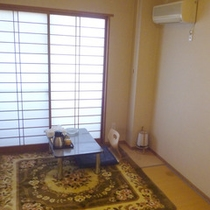 【和室6畳一例】少人数でのお泊りにぴったりなこじんまりとした和室