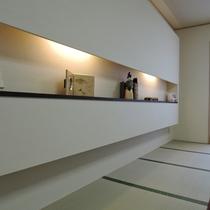 【和室20畳】かわいらしい小物も飾っております。