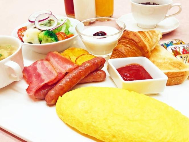 [朝食セットメニュー]洋食一例 レストランスピカAM7:00~10:00