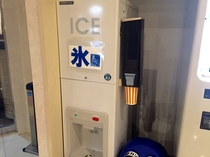 1階ロビー製氷機