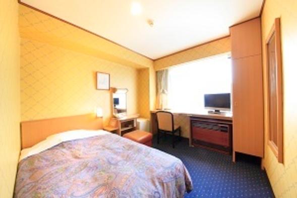 部屋もベッドも広めでゆったりプラン♪