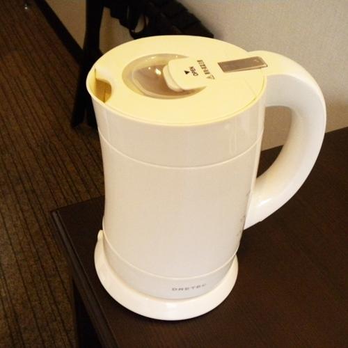 湯沸しポット/全室完備