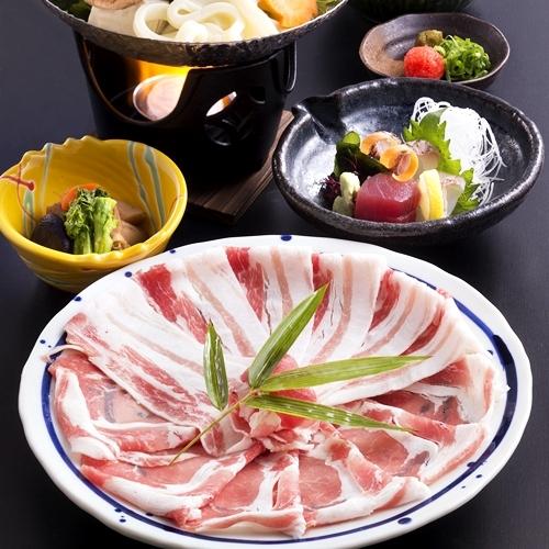 夕食メニュー/鹿児島産黒豚しゃぶしゃぶ一人鍋セット