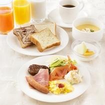 朝食/和洋バイキング/洋食メニュー盛付け例