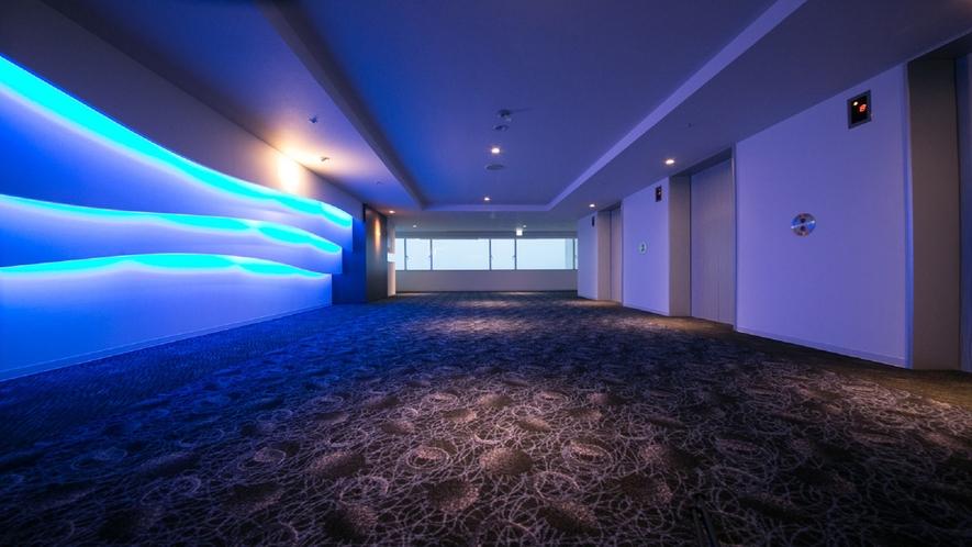 【ツインルーム【禁煙】2014年リニューアル】9Fエレベーターホール