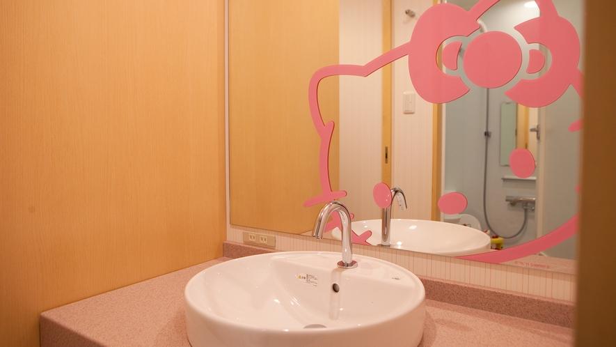 【グランデキティルーム【禁煙】◆ゆったり広々36平米】洗面台