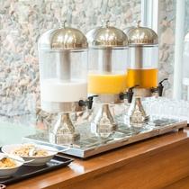 *【朝食ブッフェ】フレッシュジュースでお目覚め