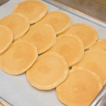 *【朝食ブッフェ】(一例)パンケーキはミニが嬉しい♪たくさん食べられます