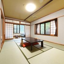 *【東館10畳~和室又は和洋室 洗面所&トイレ付】5名様までOK!ゆったりとした造りとなっております