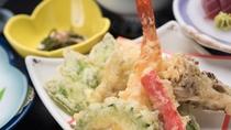 *【ご夕食一例/天ぷら】季節や仕入れによって異なるお食事をご用意しております。