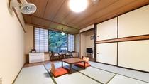 *【本館和室8~12畳トイレ付(洗面所なし)】お部屋の窓より四季折々の自然の風景を堪能できます。